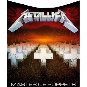 Metallica Master Of Puppets Throw