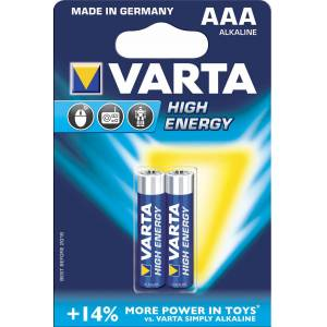 Varta LR03 High Energy 2 Pack