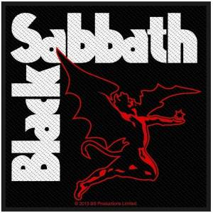 Black Sabbath Creature (Packaged) Sew-On Patch