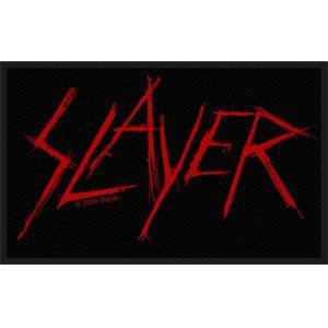 Slayer Scratched Logo Sew-On Patch