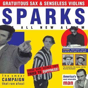 Sparks Gratuitous Sax & Senseless Violins (Vinyl LP)