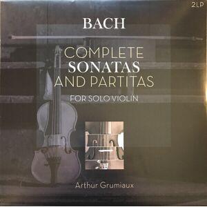 J. S. Bach Complete Sonatas And Partitas (2 LP)