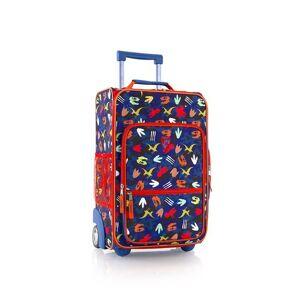Heys Dětský textilní kabinový kufr Fashion Dino 20 l