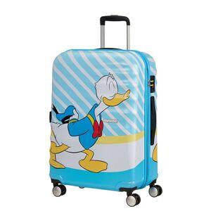 American Tourister Cestovní kufr Wavebreaker Disney Spinner 31C 64 l - Donald Blue Kiss