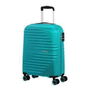 American Tourister Kabinový cestovní kufr Wavetwister 33 l - tyrkysová