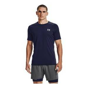 Under Armour UA HG Armour Fitted SS-NVY   1361683-410   Modrá   L