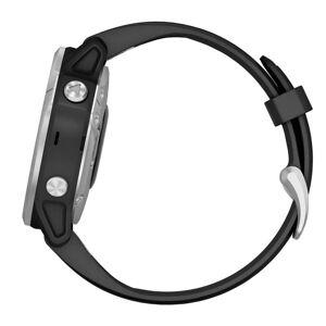 Garmin Fenix 6S Silver black/black band