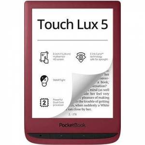 PocketBook 628 Touch Lux 5 Ruby Red