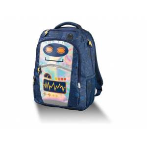 TOPMOVE® Detský ruksak s priehradkami (dobrodružný robot)