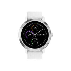 Garmin Smart hodinky vívoactive® 3  (strieborné / biely remienok)