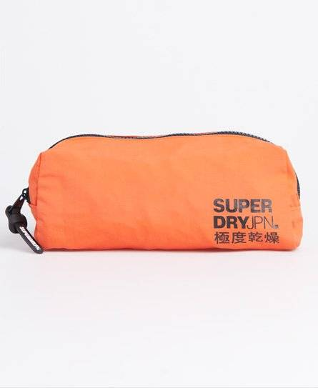 Superdry Classic Pencil Case in Orange (Size: 1SIZE)