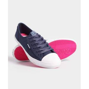 Superdry Low Pro Sneakers in Navy (Size: 5)