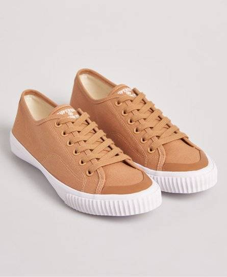 Superdry Low Pro 2.0 Trainers in Brown (Size: 7)