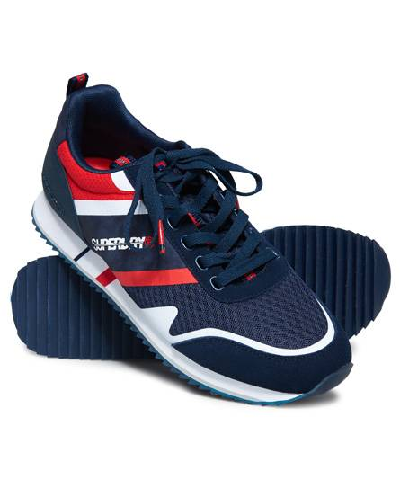 Superdry Fero Runner Trainers in Multiple Colours (Size: 6)