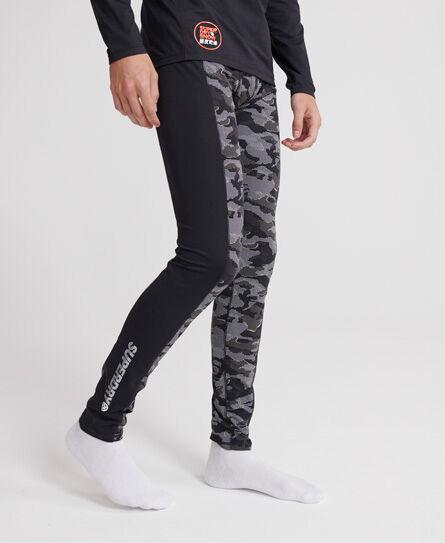 Superdry Carbon Baselayer Leggings in Dark Grey (Size: XL)
