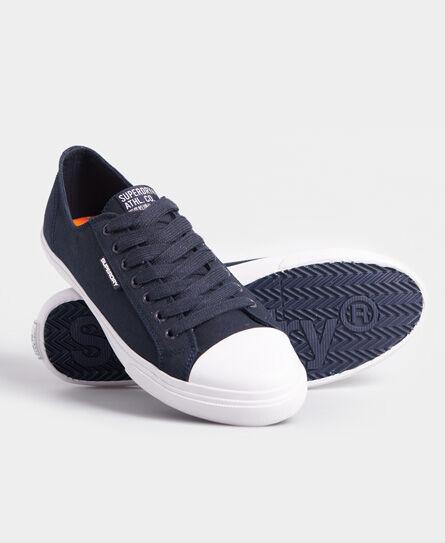 Superdry Low Pro Sneakers in Dark Blue (Size: 6)