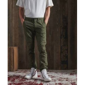 Superdry DRY Limited Edition Dry Officer Chinos in Green (Size: 30/32)