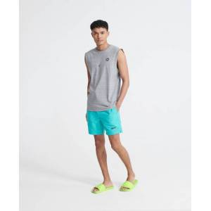 Superdry Organic Cotton Collective Oversized Vest Top in Grey (Size: M)