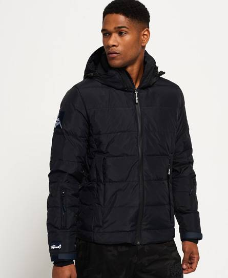 Superdry Ski Command Utility Down Jacket in Navy (Size: S)