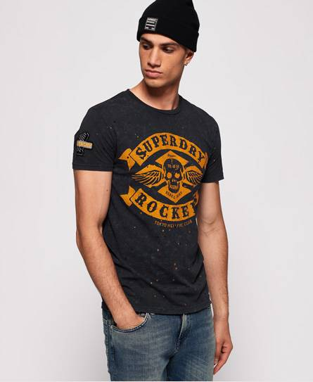 Superdry Motor City T-Shirt in Black (Size: M)