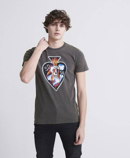 Superdry Dry Graphic T-Shirt in Black (Size: S)