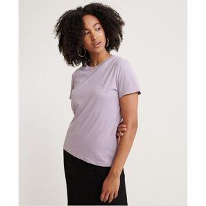 Superdry Orange Label Elite Crew Neck T-Shirt in Purple (Size: 18)