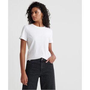 Superdry Orange Label Elite Crew Neck T-Shirt in White (Size: 18)