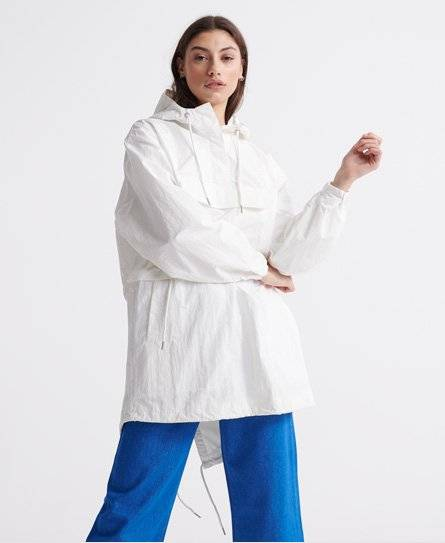 Superdry Sonoran Overhead Jacket in White (Size: L)