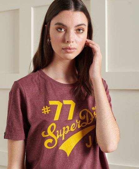 Superdry Heritage 2 Standard T-Shirt in Red (Size: 6)