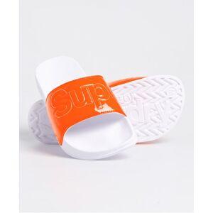 Superdry Pool Sliders in Orange (Size: M)