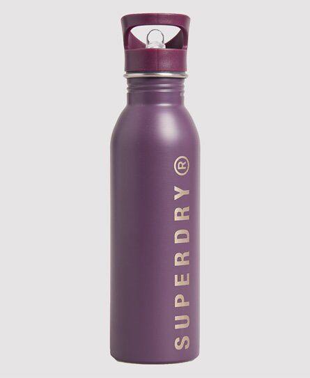 Superdry Sport Women's Metal Bottle in Purple (Size: 1SIZE)