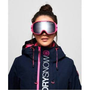Superdry Pinnacle Snow Goggles in Pink (Size: 1SIZE)