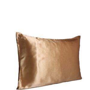 Slip Silk Pillowcase - Queen (Various Colours) - Gold