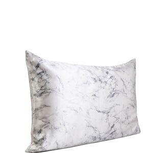 Slip Silk Pillowcase - Queen (Various Colours) - Marble