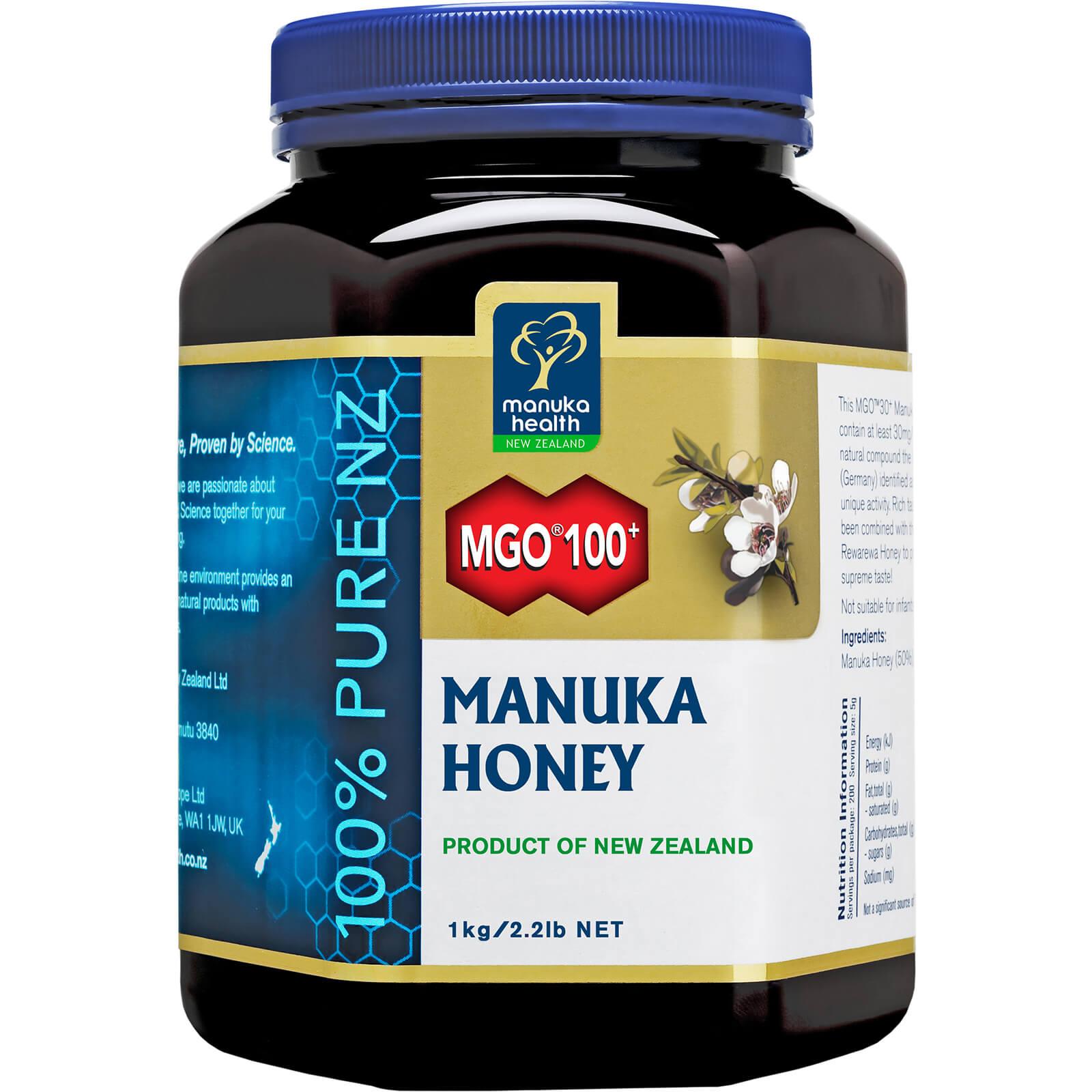 Manuka Health New Zealand Ltd MGO 100+ Pure Manuka Honey Blend - 1KG