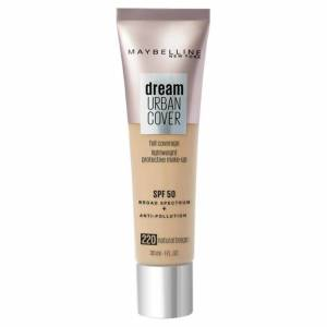 Maybelline Dream Urban Cover SPF50 Foundation 121ml (Various Shades) - 220 Natural Beige