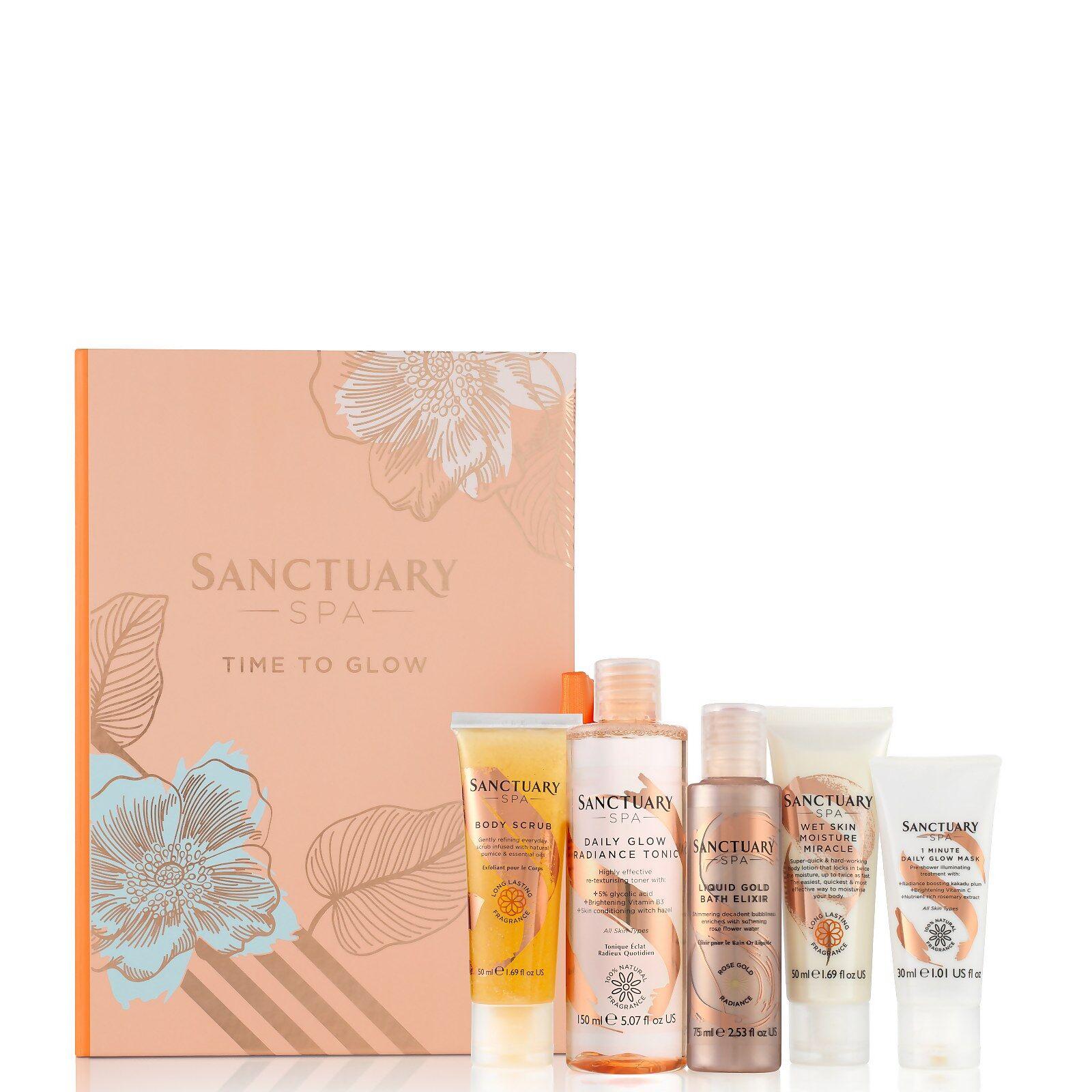 Sanctuary Spa Time to Glow Gift Set