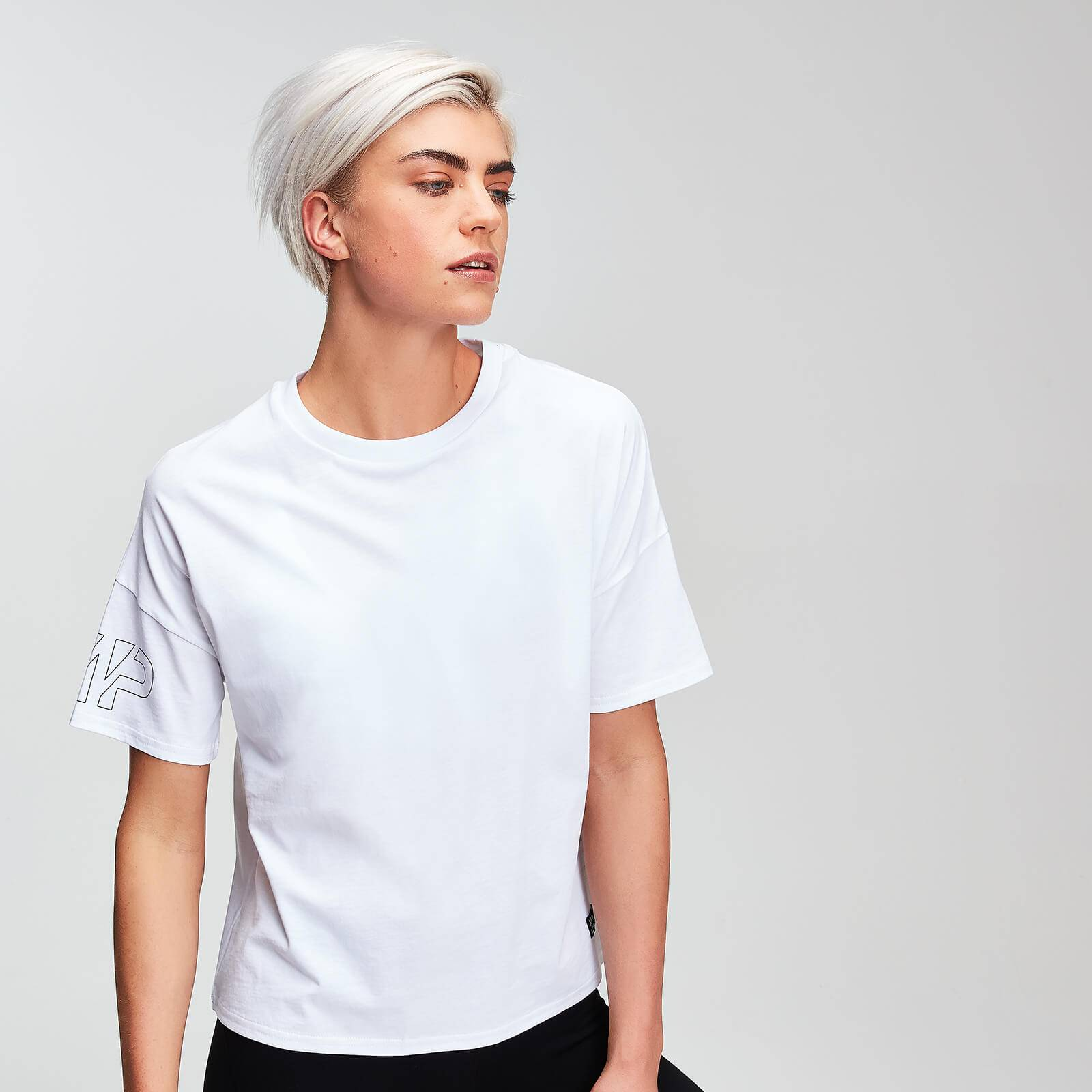 Myprotein MP Power Women's T-Shirt - White - S