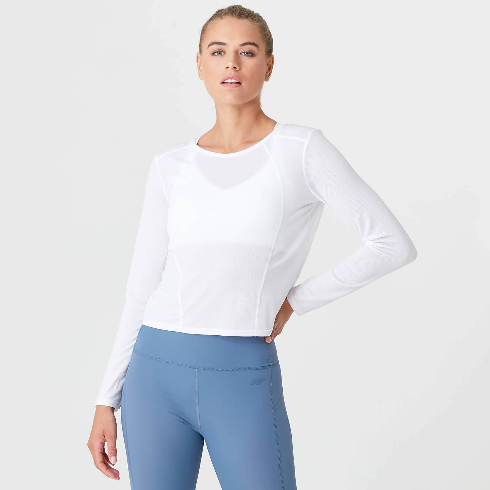 Myprotein Dry-Tech Long Sleeve T-Shirt - White - XL
