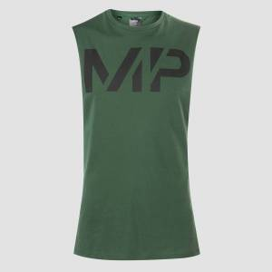 Myprotein MP Grit Tank - Hunter Green - S