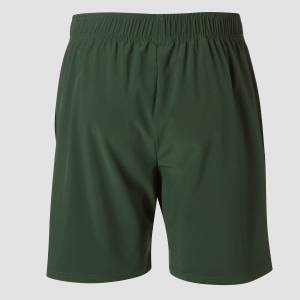 MP Men's Essentials Woven Training Shorts - Hunter Green - XL
