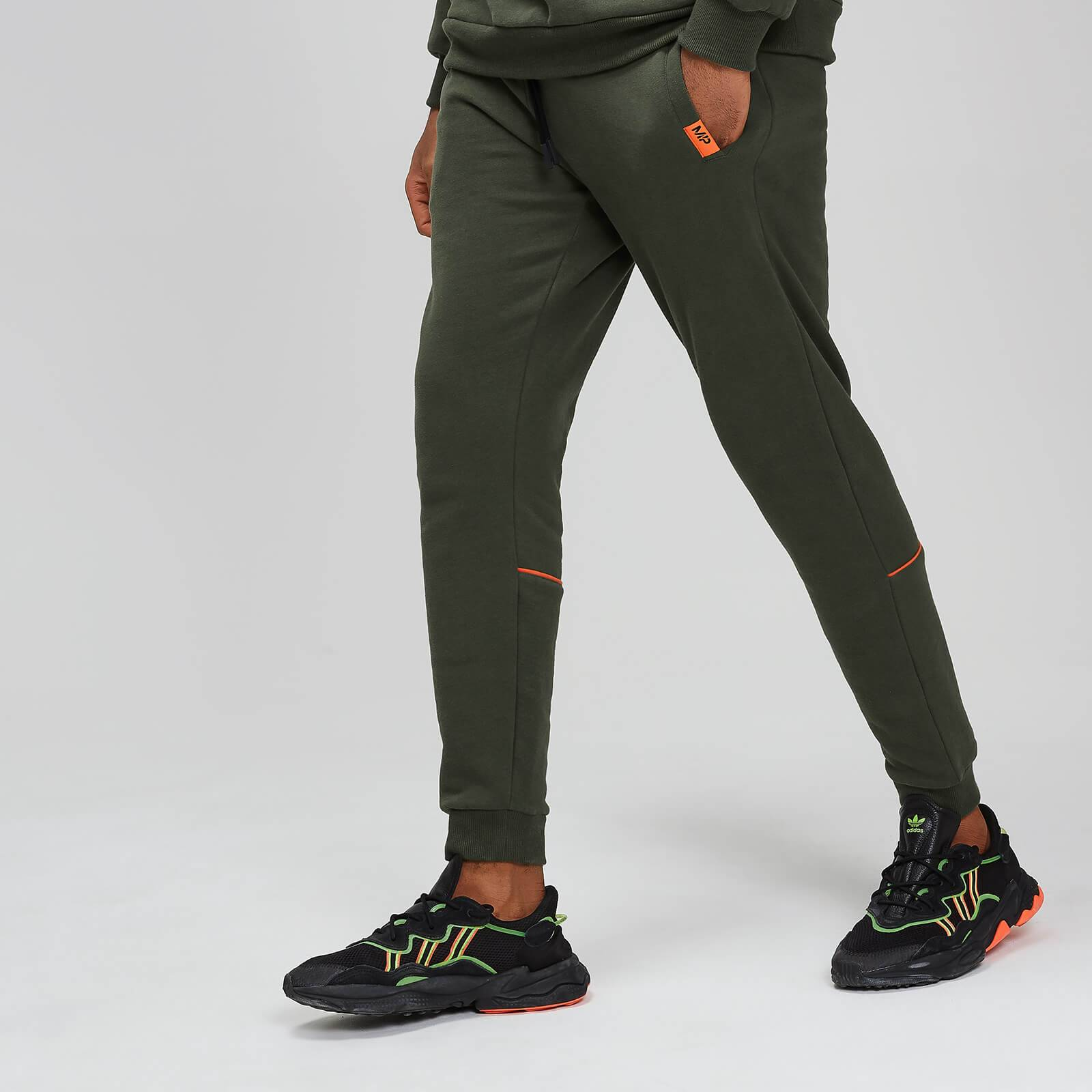 Myprotein MP Rest Day Men's Piped Calf Joggers - Army Green - XS