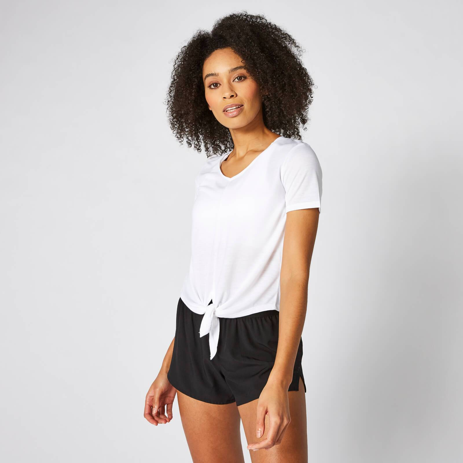 Myprotein Twist Short Sleeve T-Shirt - White - M