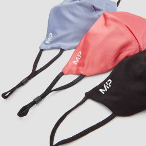 MP Mask (3 Pack) - Black/Berry Pink/Galaxy