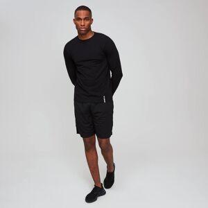 MP Men's Luxe Classic Long Sleeve Crew - Black - XS