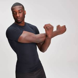MP Base Layer Short Sleeve T-Shirt - Black - M