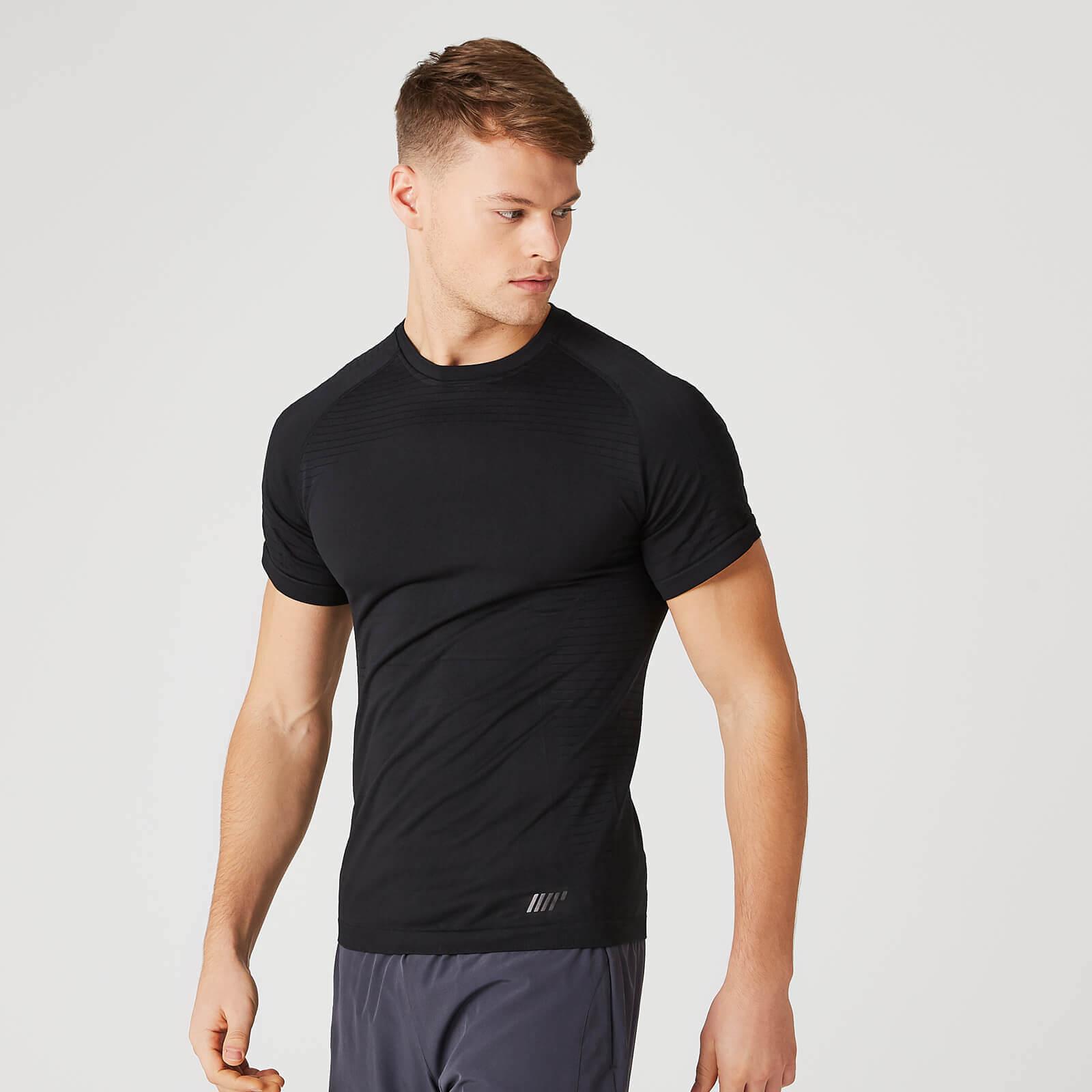 Myprotein Elite Seamless T-Shirt – Black - S