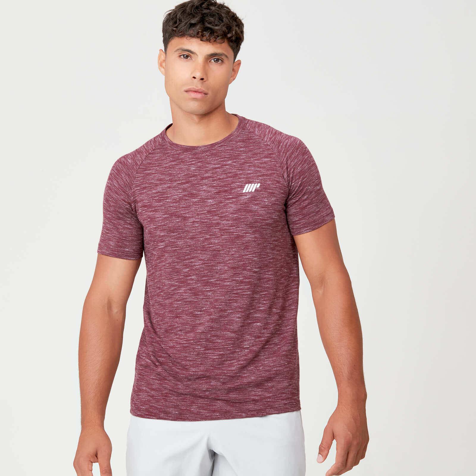 Myprotein Performance T-Shirt - Burgundy Marl - XXL
