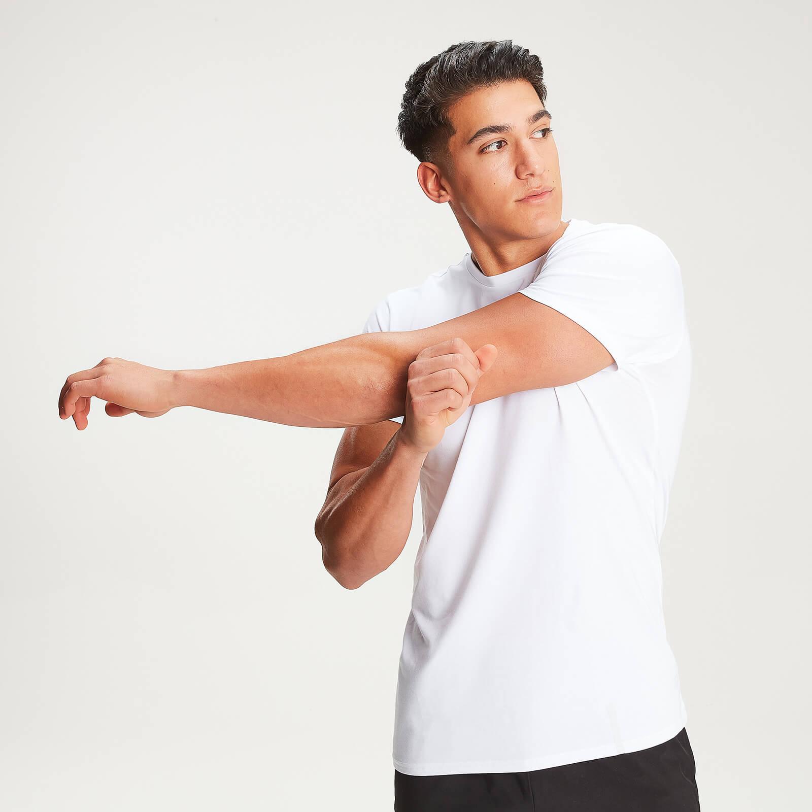 MP Men's Luxe Classic Crew T-Shirt - White - XXL