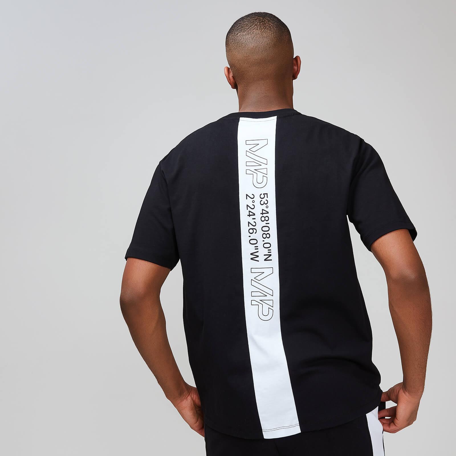 Myprotein MP Rest Day Men's Stripe Graphic T-Shirt - Black - XXL